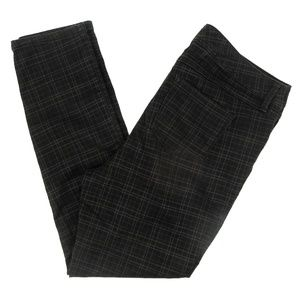 Torrid Pants Luxe Skinny Plaid Checkered Mid Rise